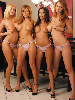 Veronica Saint , Shay Laren and Famous Pornstar Friends