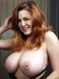The Hottest Busty Redhead Tessa Fowler - Big Round Tits Gallery